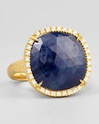Marco Bicego | Metallic Siviglia 18k Blue Sapphire Ring Large | Lyst