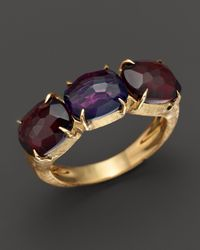 Marco Bicego | Purple Murano Amethyst And Garnet Ring | Lyst