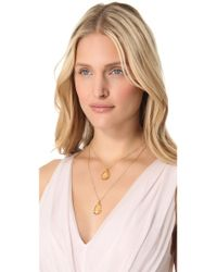 Heather Hawkins | Metallic Layer Pendant Necklace | Lyst
