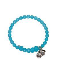 ALEX AND ANI | Blue Vintage 66 Bohemian Jewel Wrap Bangle | Lyst