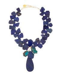 Devon Leigh | Blue Lapishowlite Necklace | Lyst