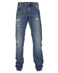 Dondup | Blue Jar Straight Leg Jean for Men | Lyst