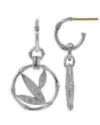 John Hardy | Metallic Bamboo Diamond Earrings | Lyst