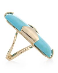Kendra Scott - Metallic Tobin Turquoise Ring - Lyst