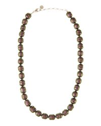 Majorica | White Baroque Pearl Necklace | Lyst