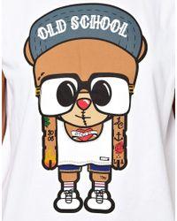ASOS - White Panuu Harlem Bear Tshirt Exclusive To - Lyst