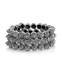 Philippe Audibert - Metallic Alamos Silver-Plated Cuff - Lyst