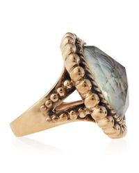 Stephen Dweck - Blue Abalonerock Crystal Ring 8 - Lyst