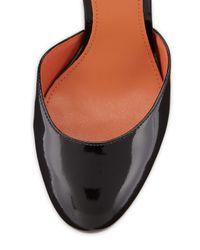 Via Spiga - Daffodil Patent Platform Pump Black - Lyst