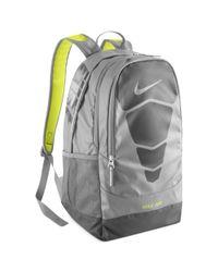 Nike Gray Vapor Max Air Backpack for men