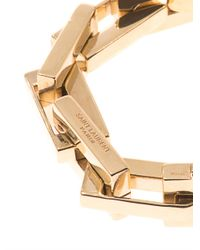 Saint Laurent - Metallic Babylon Chain Bracelet - Lyst
