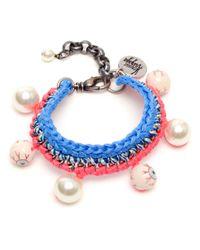 Venessa Arizaga | Blue Trasher Slasher Bracelet | Lyst