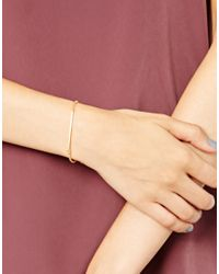 Dogeared - Metallic Balance Bar Bracelet - Lyst