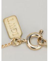 In God We Trust - Metallic Brass Sweet Nothingblah Blah Blah Necklace - Lyst