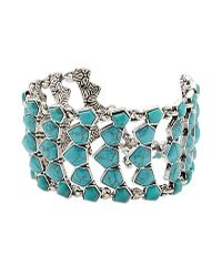 Lucky Brand - Metallic Turquoise Bracelet - Lyst