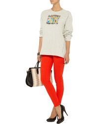 Marni - Natural Printed Cotton-jersey T-shirt - Lyst