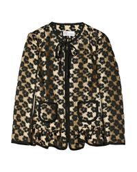 RED Valentino - Natural Leopardjacquard Jacket - Lyst