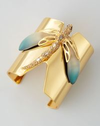 Alexis Bittar | Metallic Neo Boho Dragonfly Cuff Bracelet | Lyst
