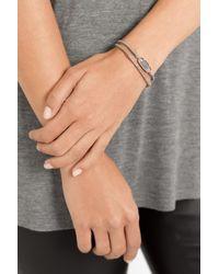 Brooke Gregson - Pink 18karat Rose Gold Labradorite Bracelet - Lyst