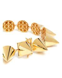 Eddie Borgo | Metallic Large Cone Necklace | Lyst