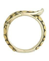 John Hardy | Metallic Ayu Petite Leafwrap Ring Size 7 | Lyst