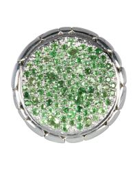 John Hardy - Green Kali Garden Ring Size 6 - Lyst
