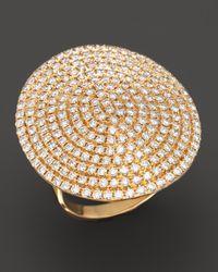Dana Rebecca - Metallic Diamond Carly Michelle Ring in 14k Yellow Gold - Lyst