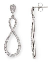 Nadri | Metallic New Basics Figure Eight Earrings | Lyst