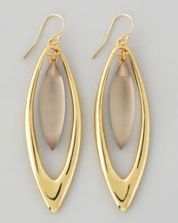 Alexis Bittar | Metallic Neo Boho Large Marquise Drop Earrings | Lyst