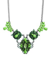ASOS | Green Garden State Necklace | Lyst