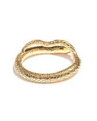 Aurelie Bidermann   Metallic Tao Goldplated Snake Bracelet   Lyst