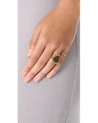 House of Harlow 1960 | Metallic Band Ring | Lyst