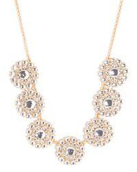 BaubleBar | Metallic Crystal Pinwheel Strand | Lyst