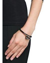 Mango - Black Screws Metal Bracelet - Lyst
