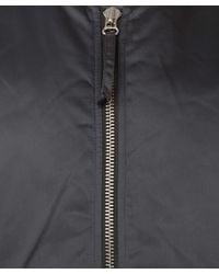 Our Legacy - Metallic Silver Nylon Bomber Jacket for Men - Lyst