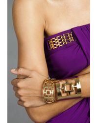 Trina Turk - Metallic Pierced Bangle - Lyst