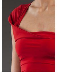 Lanvin | Red Swimming Costume | Lyst