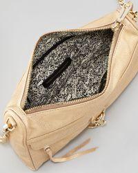 Rebecca Minkoff | Natural Mac Clutch Crossbody Bag Gold | Lyst
