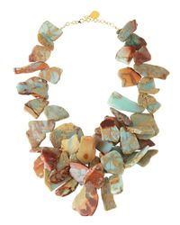 Devon Leigh | Multicolor Opal Earth Doublestrand Necklace | Lyst