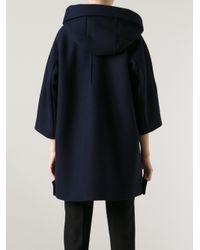Jil Sander | Blue Pacman Coat | Lyst