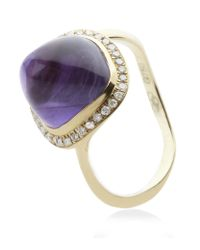 Links of London | Purple Infinite Love Amethyst Ring | Lyst