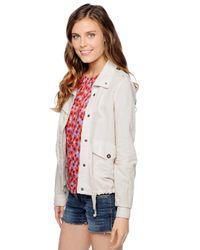 Splendid | Natural Breezy Linen Jacket | Lyst