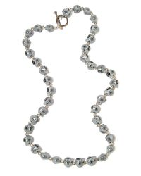 Shebee - Multicolor The Colt Skull Necklace - Lyst