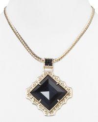 Kendra Scott - Metallic Savannah Necklace  - Lyst