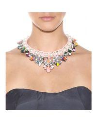 Shourouk | Multicolor Marisa Jumble Embellished Necklace | Lyst