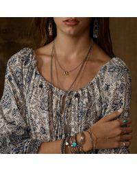 Denim & Supply Ralph Lauren - Metallic Silvertoned Charm Necklace - Lyst