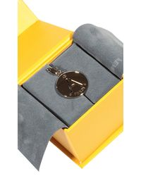 Fendi | Metallic Charming Letter A | Lyst
