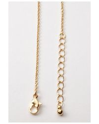 Forever 21 - Metallic Lightning Bolt Long Necklace - Lyst