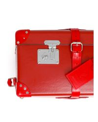 """Globe-Trotter - Red Limited Edition X+q Art 33"""" Wheeled Suitcase - Lyst"""