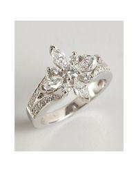 Kwiat - Metallic Platinum and Diamond Star Ring - Lyst